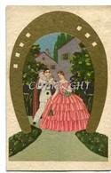 PIERROT E DAMA ILLUSTRATORE DA INDIVIDUARE -VG IL 4-2-1931-ORIGINALE AL 100%2 SCANN- - Illustratori & Fotografie