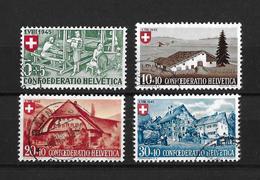 1945 PRO PATRIA → Arbeit Und Schweizer Haus I   ►SBK-B26 Bis B29◄ - Pro Patria