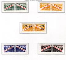 1956/61 - SAINT-MARIN - SAN MARINO - Sass. Pacchi Postali 37/41 - MNH - New Mint - Colis Postaux