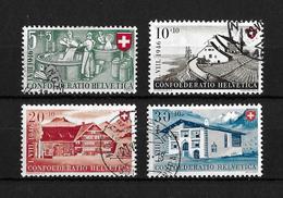 1946 PRO PATRIA → Arbeit Und Schweizer Haus II   ►SBK-B30 Bis B33◄ - Pro Patria