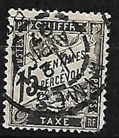 France   Taxe  N°  16    Oblitéré  AB/ 2 ème Choix    Soldé à Moins De 5 %  ! ! ! - 1859-1955 Used