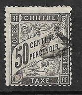France   Taxe  N°  20    Oblitéré  AB/ 2 ème Choix    Soldé à Moins De 5 %  ! ! ! - 1859-1955 Used