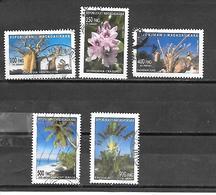 TIMBRE  OBLITERE DE MADAGASCAR DE 2002 N° MICHEL 2585/89 - Madagascar (1960-...)