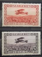 Sarre, PA, Numéros 3, 4, Timbres Neufs * * (MNH) Ccote 31 Euros. - 1920-35 Société Des Nations