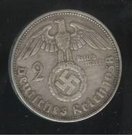 2 Mark Allemagne / Germany 1938 G - TTB - 2 Reichsmark