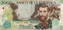 COLOMBIA 5000 PESOS  2008 P-452j  CIRC. - Colombia