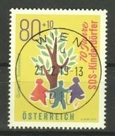 """Österreich 2019: """"70 Jahre SOS Kinderdörfer"""" Gestempelt - 2011-... Gebraucht"""