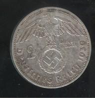 2 Mark Allemagne / Germany 1939 F - TTB - 2 Reichsmark