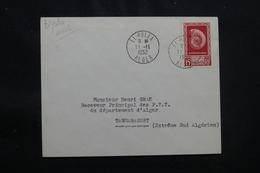 ALGÉRIE - Enveloppe De El Golea En 1952 Pour Tamanrasset Par 1er Vol, Affranchissement Plaisant - L 57024 - Covers & Documents