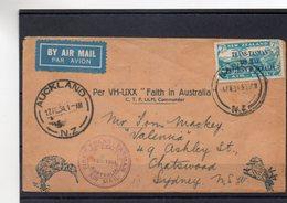 NOUVELLE ZELANDE 17/2/1934 - Lettres & Documents