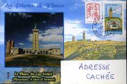 Envelope Circulée, France, 2020, Phares, Plévenon, Phare Du Cap Fréhel - Phares