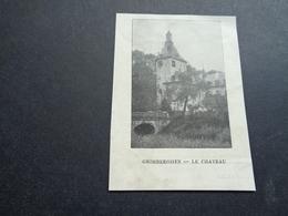 Origineel Knipsel ( 3273 ) Uit Tijdschrift  :   Grimbergen - Old Paper