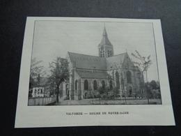 Origineel Knipsel ( 3276 ) Uit Tijdschrift  :   Vilvorde   Vilvoorde - Old Paper