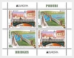 Romania Rumänien Delivery Within 4 Weeks MNH ** Ru 2018 - 19 Europe CEPT Bridges Block I - 1948-.... Républiques