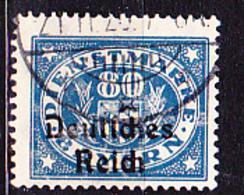 Deutsches Reich German Empire Empire Allemand - Dienstmarke/Service (Mi.Nr. 44) 1920 - Gest. Used Obl. - GEPRÜFT - Dienstzegels