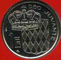 Monaco 1 Franc 1995 BU GAD 150 KM 140 - Monaco