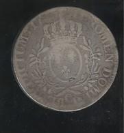 Ecu Aux Branches D'Olivier Louis XV Cean - Année Illisible - 1715-1774 Louis XV Le Bien-Aimé