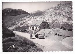 64 Col Du Pourtalet Vers Laruns N1986 Poste Frontière Espagnol En 1954 VOIR 2 ZOOMS Simca Aronde Chevaux Douaniers Chien - Laruns