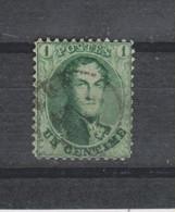COB 13 Dentelé 12 1/2 Oblitéré NAMUR - 1863-1864 Medallions (13/16)
