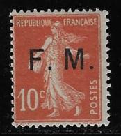 FM N° 5 TIMBRES-POSTE SURCHARGES NEUF ** TTB COTE 4 € - Militärpostmarken