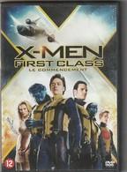 DVD  X Men  First Class Le Commencement    (  TTB  état ) - Fantasy