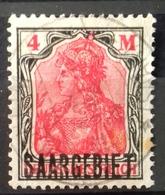 Sarre, Numero 49, Timbre Oblitéré, Cote 29 Euros. - 1920-35 Société Des Nations