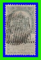 "COB N° 53 - Belle Oblitération ""A Barres"" (18 Barres) - 1893-1900 Barbas Cortas"