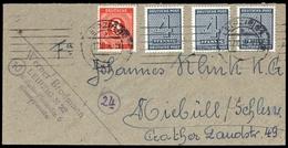 1945, SBZ Westsachsen, 127 X (3) U.a., Brief - Zone Soviétique
