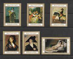 Manama 1972 Art - Paintings Of Francisco De Goya Y Lucientes IMPERFORATE MNH - Manama