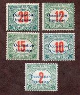 ARAD Taxes N°6/10 N* TB Cote 65 Euros !!!RARE - Hongrie (1919)