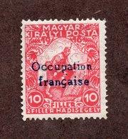 ARAD N°1 N* TB Cote 45 Euros !!!RARE - Hongrie (1919)