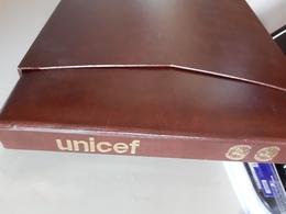 Wereld Unicef / Verenigde Naties Mostly Only Pages With Stamps Photographed - Sammlungen (im Alben)