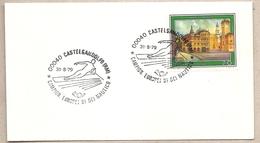 Italia - Busta Con Annullo Speciale: Campionati Europei Di Sci Nautico A Castelgandolfo (Roma) - 1979 - Sci Nautico