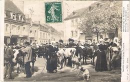 PONT AVEN Marché Tableau De Schmidt Wehrlin Au Salon De 1912 - Pont Aven