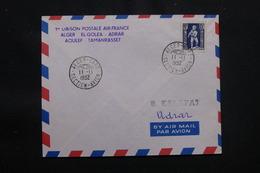 ALGÉRIE - Enveloppe 1er Vol Ligne Alger / El Goléa /Adrar /Aoulef / Tamanrasset Du 11 Novembre 1952 - L 57026 - Covers & Documents