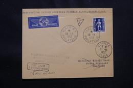 ALGÉRIE - Enveloppe 1er Vol Ligne Alger / El Goléa /Adrar /Aoulef / Tamanrasset Du 11 Novembre 1952 - L 57029 - Covers & Documents
