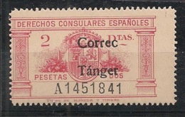 Maroc - Tanger - 1939 - N°Yv. 295 - 2p Rose - Variété CORREC Au Lieu De CORREO - Neuf Luxe ** / MNH / Postfrisch - Marocco Spagnolo