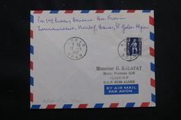 ALGÉRIE - Enveloppe 1er Vol De La Ligne Tamanrasset / Alger Du 13 Novembre 1952 - L 57032 - Covers & Documents