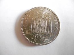 (A2 1)-ESPAGNE-PIECE DE 5 PESETAS-FRANCO-1949 - [ 5] 1949-… : Royaume