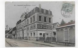 (RECTO / VERSO) LUXEUIL LES BAINS EN 1906 - N° 10 - LE CASINO - PLIS ET PETITE DECHIRURE HAUT A GAUCHE - CPA COULEUR - Luxeuil Les Bains