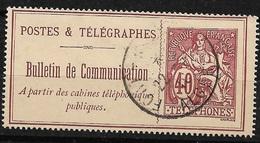 France   Téléphone Et Télégraphes  N° 26  Oblitéré   Alger    B/TB     Soldé  ! ! ! - Télégraphes Et Téléphones
