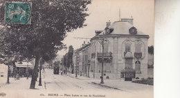 REIMS   PLACE LUTON  RT RUE DE NEUFCHATEL - Reims