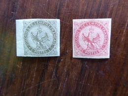 FRANCE Colonies Générales N° 1 Et 6  Neufs Avec Charnière  Cote 150 € - Aigle Impérial