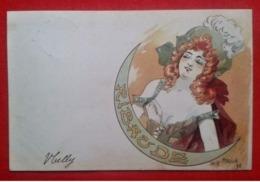 "CPA ""Ribaude"" - Les Annonciatures - Jack Abeillé - Künstlerkarten"