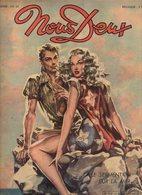 Nous Deux N°112 Bande Dessinée : Amour Sans Lendemain, Au Delà De L'oubli - Récits : Le Miracle De Claudine De 1949 - Romantique