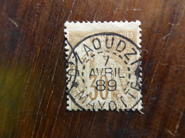 "FRANCE Colonies Mayotte Oblitéré ""DZAOUDZI"" 1889 - Mayotte (1892-2011)"