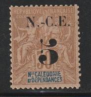 NOUVELLE CALEDONIE - N°65 * (1902) - Nouvelle-Calédonie