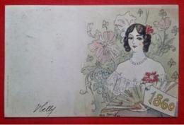 """CPA """"1860"""" - Les Annonciatures - Jack Abeillé - Künstlerkarten"""