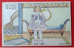 CPA Fantaisie Suzanne Cocq - Künstlerkarten