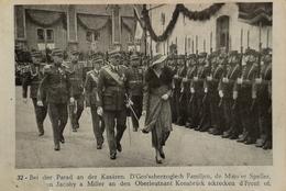 Luxembourg - Sammler Karte Format AK // NO. 32 // Bei Der Parad An Der Kasaren...... . 19?? - Unclassified